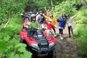 A fun family day on ATVs