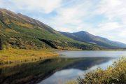 Remote lake view