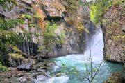 Chugach State Park waterfall