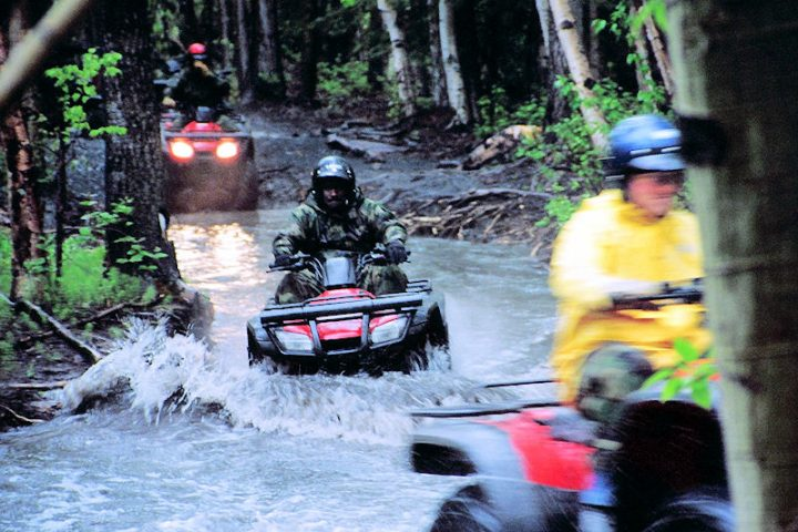 ATV tours for experienced riders