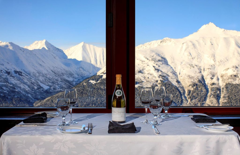 Seven Glaciers is Alyeska Resort
